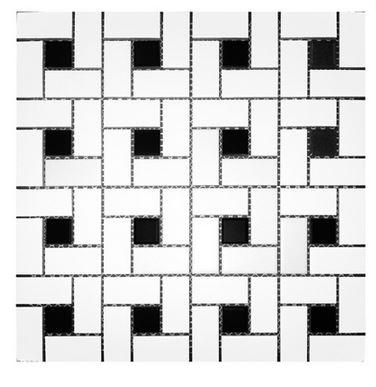 Alameda white-and-black-pinwheel