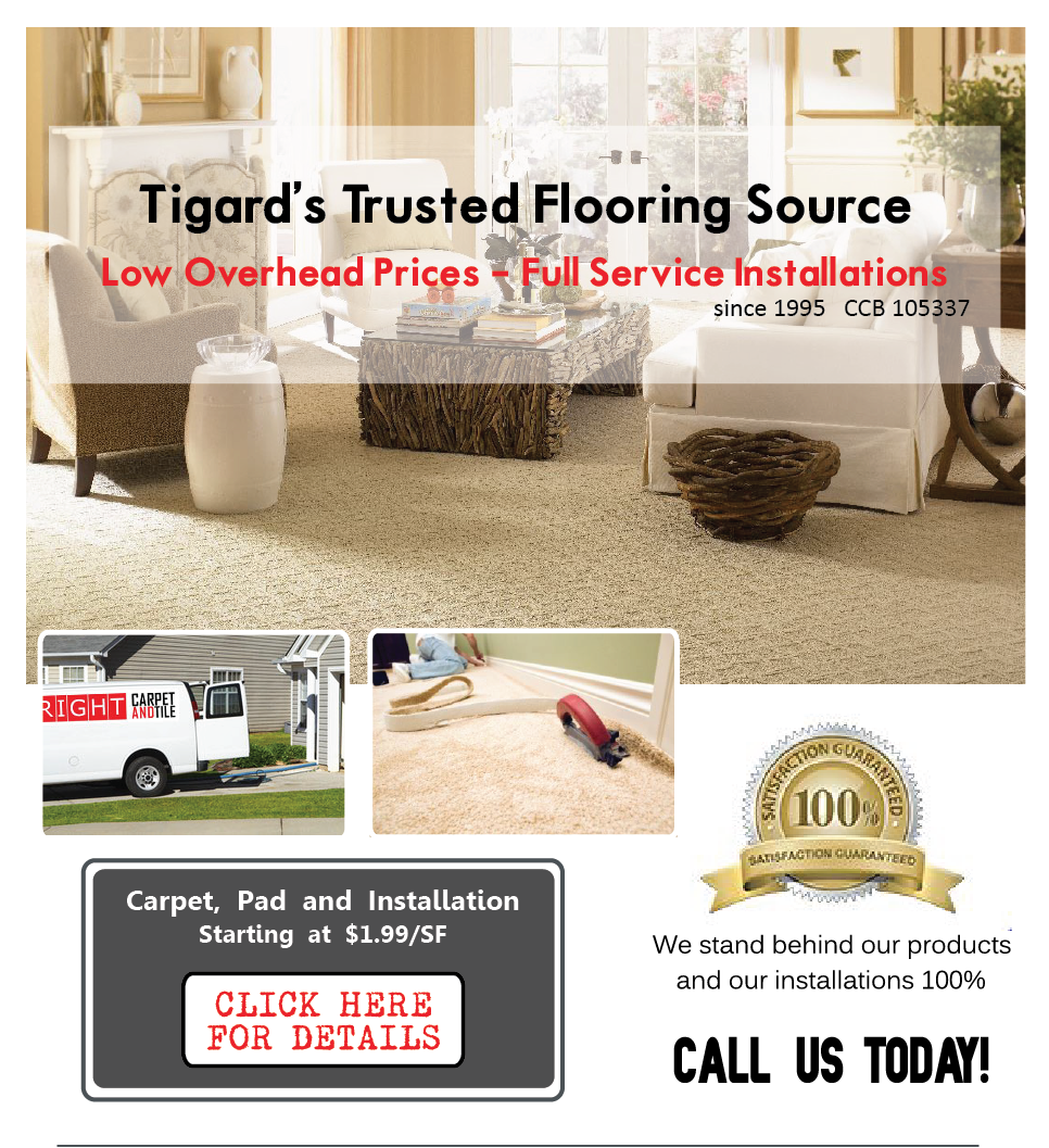 Tigard Carpet & Tigard Flooring