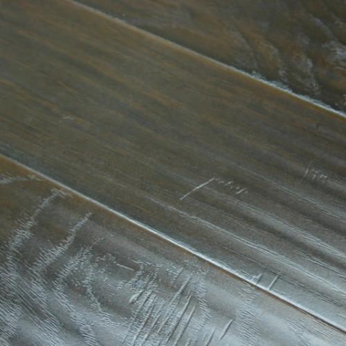 Invincible African Hickory 12mm Handscraped Laminate Flooring