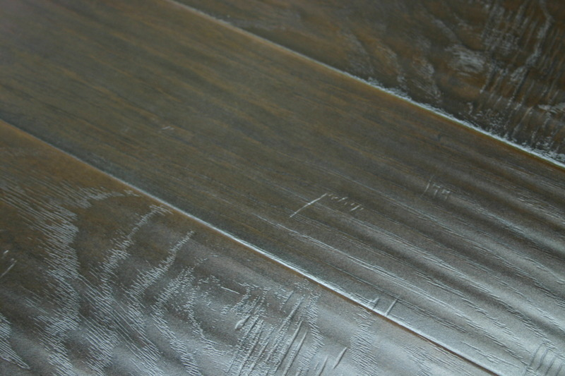 Invincible African Hickory 12mm Handscraped Laminate Flooring