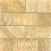 Butterscotch Onyx Honed 3x6