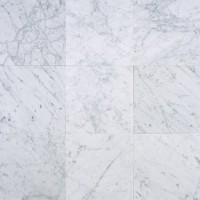 Carrara Marble Honed 12x12