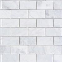 Carrara-Marble-POLISHED-1×2-Mosaics-200×200