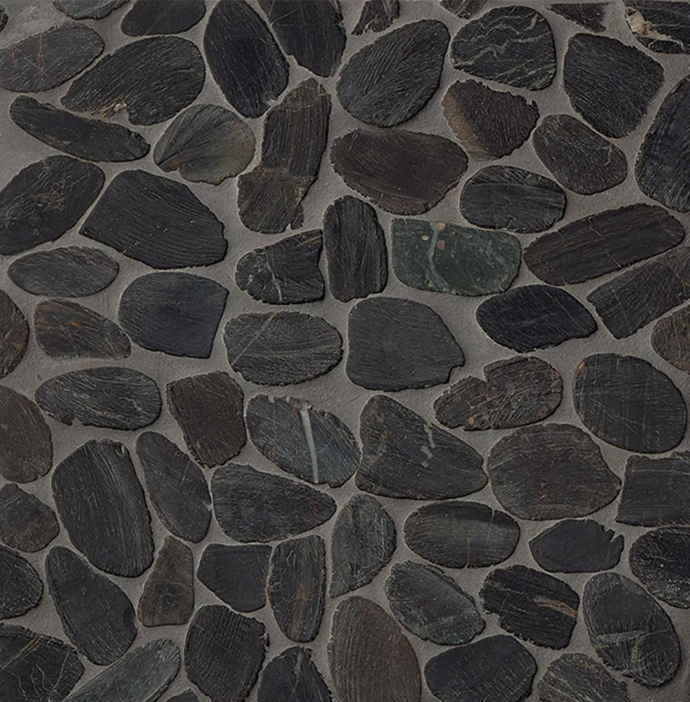 Creekside Panther Black Sliced Pebbles