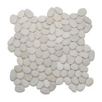 Timor White mini Pebble Mosaics