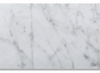 3x6 Honed Ocean White Marble