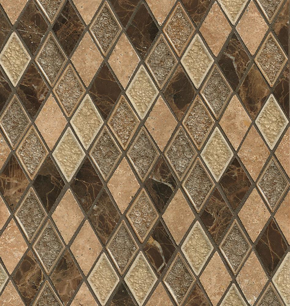 Outburst Fantasy Diamond Crackle Glass Mosaics Tigard