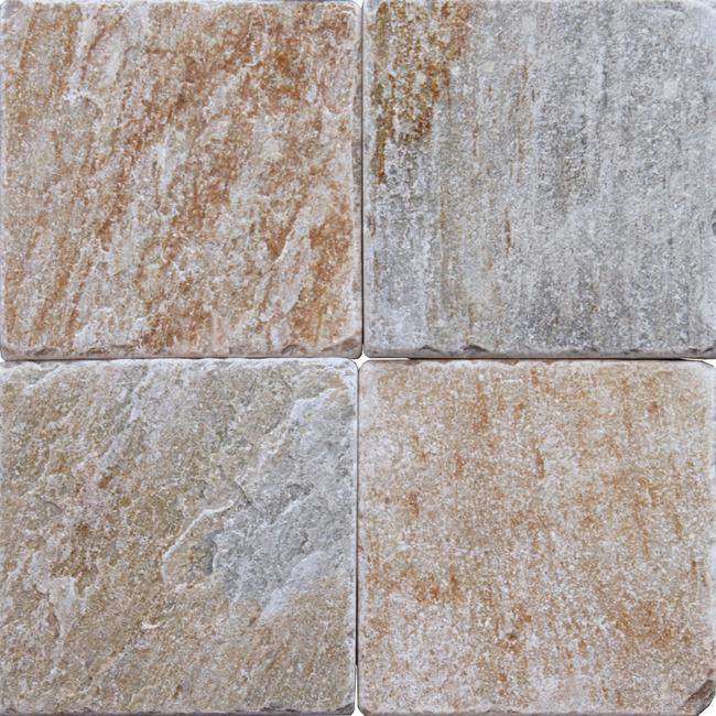 Oyster Quartzite 6x6 Tumbled Slate Tigard Carpet Amp Tigard Flooring
