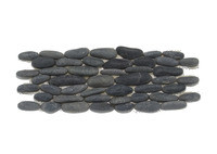 Black Standing Pebbles