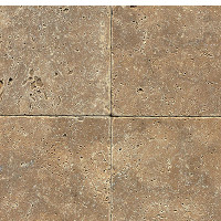 Noce Tumbled 6x6 Travertine