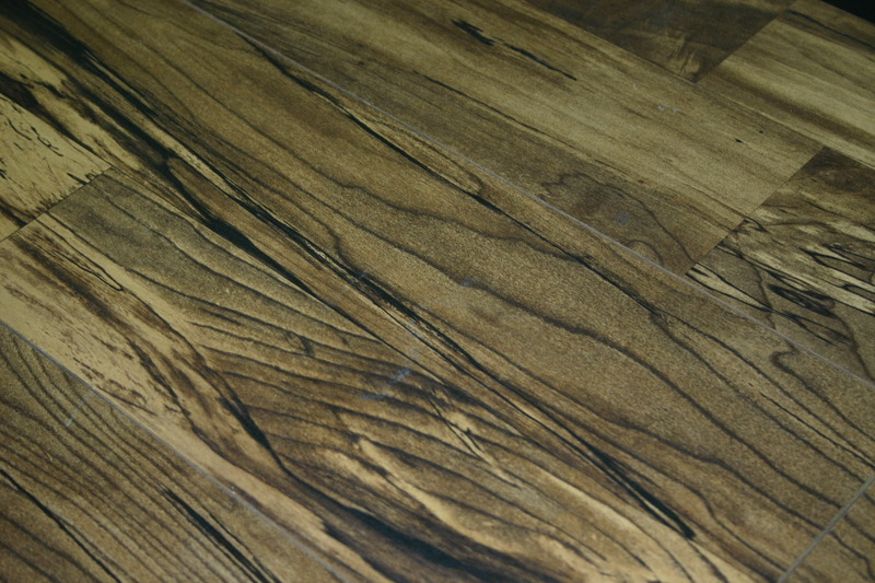 Invincible French Walnut 12mm Laminate Flooring With Pad Attached