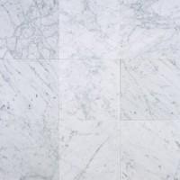 Carrara Marble Honed 12x12